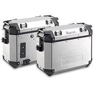 KAPPA PAIR OF ALUMINIUM SIDECASES KVE37A - Motorcycle case