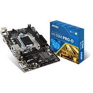MSI H110M PRO-D - Motherboard