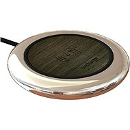 Aircharge Executive Qi Wireless Charging Pad Black - Wireless Charger Stand