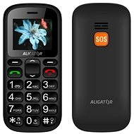 Aligator A321 Senior - Gray + Desktop Charger - Mobile Phone