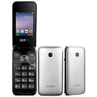 ALCATEL ONETOUCH 2051D Metal Silver - Mobile Phone
