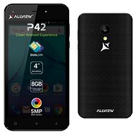 Allview P42 Black - Mobile Phone