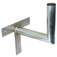Three-point galvanized bracket, 250/200/40, 25 cm from the wall - Console