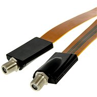 Window gland 50cm F connectors - Cable