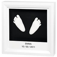 Baby art Frame for 3D imprint - white - Children's kit