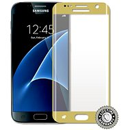 ScreenShield Tempered Glass Samsung Galaxy S7 G930 Gold - Tempered Glass