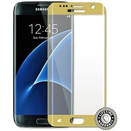 ScreenShield Tempered Glass Samsung Galaxy S7 edge G935 Gold - Tempered Glass