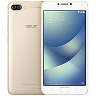 Asus Zenfone 4 Max ZC554KL Metal/Gold - Mobile Phone