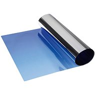 FOLIATEC - metallic, translucent shading strip on the front window - blue - Lens Hood