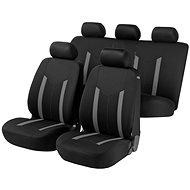 Walser seat covers for the entire Hastings gray / black vehicle - Car Seat Covers