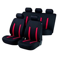 Walser seat covers on the entire Hastings red / black vehicle - Car Seat Covers