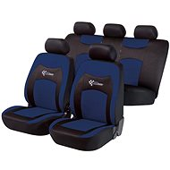 Walser seat covers on the entire RS Racing vehicle blue / black - Car Seat Covers