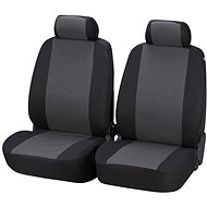 Walser seat covers for the front seats Pineto grey/black - Car Seat Covers