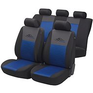 Walser seat covers on the entire Racing vehicle blue / black - Car Seat Covers