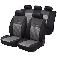 Walser seat covers for the whole Silver / Black racing vehicle - Car Seat Covers