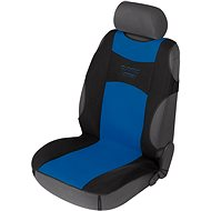 Walser seat covers on the front seats Tuning Star black / blue - Car Seat Covers