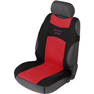 Walser seat covers for front seats Tuning Star black / red car seat - Car Seat Covers