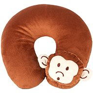 Walser cushion travel / neck collar Monkey brown (from 5 years) - Pillow
