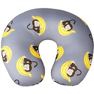 Walser cushion travel / neck collar Monkey gray (from 5 years) - Pillow