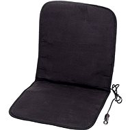 COMPASS Heated 12V cover, black - Car Seat Covers