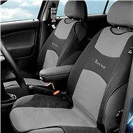 Compass seat covers front TRIKO 2pc dark grey - Car Seat Covers
