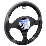 COMPASS GRIP steering wheel cover gray - Car Seat Covers