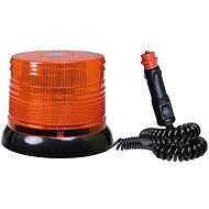Orange Lighthouse 100 LED Magnet - Screw 12 / 24V - Beacon
