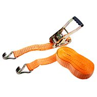 Clamping straps with ratchet LC2500 daN 5t / 8m strip 50mm ORANGE - Straps