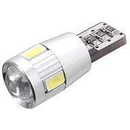 6 SMD LED bulb 12V T10 with resistor CAN-BUS ready white - Car Bulb