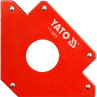 YATO Magnetic angle for welding 34 kg with hole - Holder
