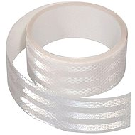 Reflective adhesive tape 1m x 5 cm white - Printer Ribbon