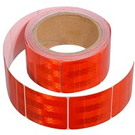 COMPASS Self-adhesive tape reflective 5m x 5cm red (rolls 5m) - Printer Ribbon