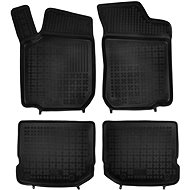 Foot mats with raised edge for the Skoda Rapid 2012 / Rapid Spaceback since 2013 - Car Mats