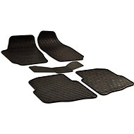 Rubber mats for Skoda Fabia I (2000-2007) - 5 pieces - Car Mats