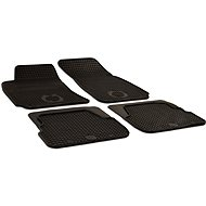 Rubber mats for Skoda Superb I (2002-2008) - Car Mats