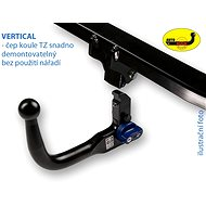 Autohak towbar for Skoda Rapid Spaceback 2013- - towbar