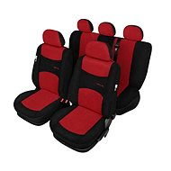 SIXTOL SPORT LINE + Standard Autopoints, red-black - 3 year warranty - Car Seat Covers