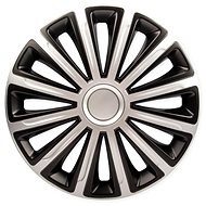 "TREND DC SILVER/BLACK 14"" 4pcs - Wheel Covers"