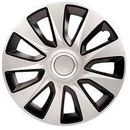 "STRATOS DC SILVER/BLACK 16"" 4pcs - Wheel Covers"