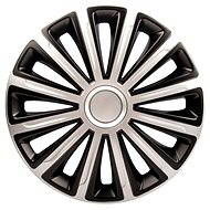 "TREND DC SILVER/BLACK 16"" 4pcs - Wheel Covers"
