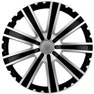 "TORO BLACK / SILVER 14"" 4 pcs - Wheel cover set"