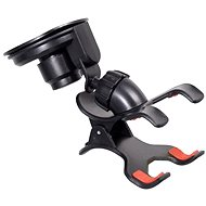 COMPASS Phone holder / GPS for Double ClIPS suction cup - Car Holder