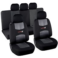 Compass Potahy sedadel sada 9ks CARBON DARK - Car Seat Covers