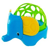 Oball Rollie Rattles Elephant - Baby Rattle