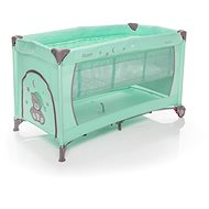 ZONE NANNY with positioning - green - Travel Bed