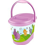 OKT HIPPO diaper basket - purple - Diaper Bin