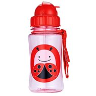 Skip Hop Zoo bottle with a straw - Ladybird - Baby bottle
