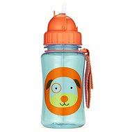 Skip Hop Zoo bottle with a straw - Dog - Baby bottle