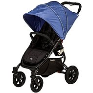 VALCO SNAP 4 BLACK SPORT - blue cover - Baby Carriage