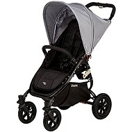 VALCO SNAP 4 BLACK SPORT - grey cover - Baby Carriage